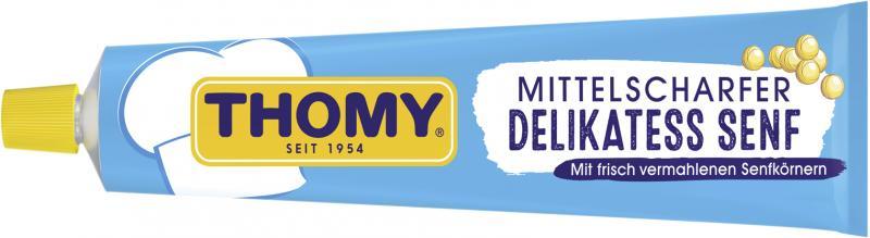 Thomy Delikatess Senf mittelscharf