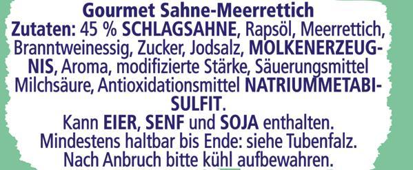 Thomy Gourmet Sahne-Meerrettich mild