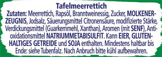 Thomy Scharfer Meerrettich