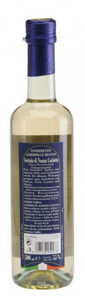Acetaia di Nonna Carlotta Condimento Agrodolce Bianco