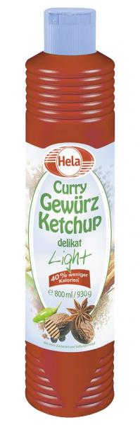 Hela Curry Gewürz Ketchup delikat light
