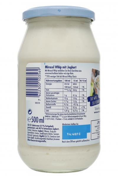 Miracel Whip mit Joghurt