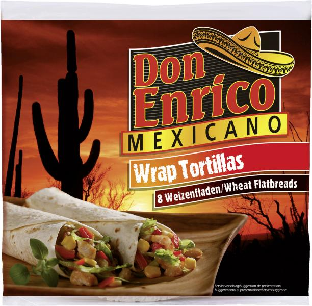 Don Enrico Wrap Tortillas