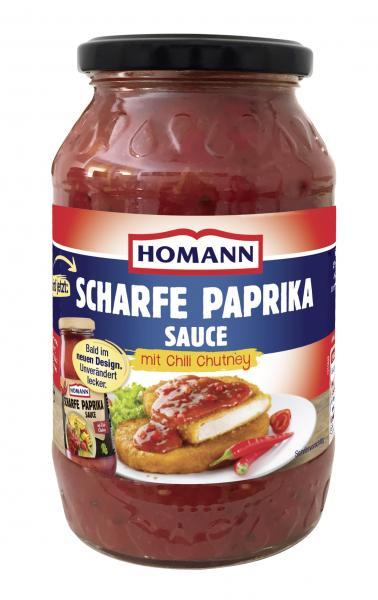 Homann Scharfe Paprika Sauce mit Chili Chutney