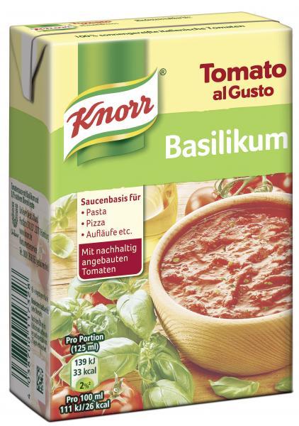 Knorr Tomato al Gusto Basilikum