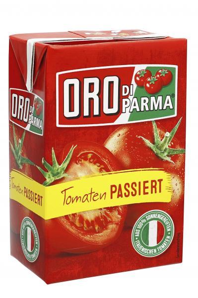 Oro di Parma Tomaten passiert