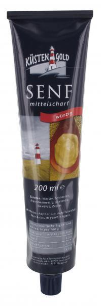 Küstengold Senf mittelscharf