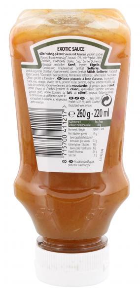 Heinz Exotic Sauce