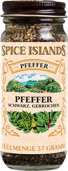 Spice Islands Pfeffer schwarz