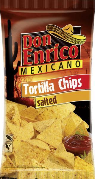 Don Enrico Mexicano Tortilla Chips gesalzen