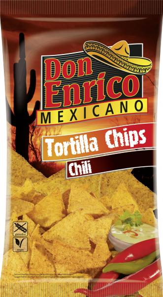 Don Enrico Mexicano Tortilla Chips Chili