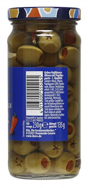 Ibero Spanische Oliven mit Paprikapaste