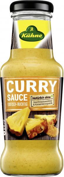 Kühne Curry Sauce exotisch-fruchtig