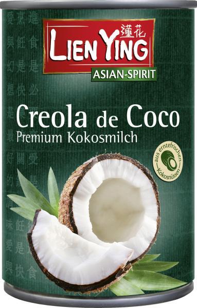 Lien Ying Asian-Spirit Creola de Coco Premium Kokosmilch