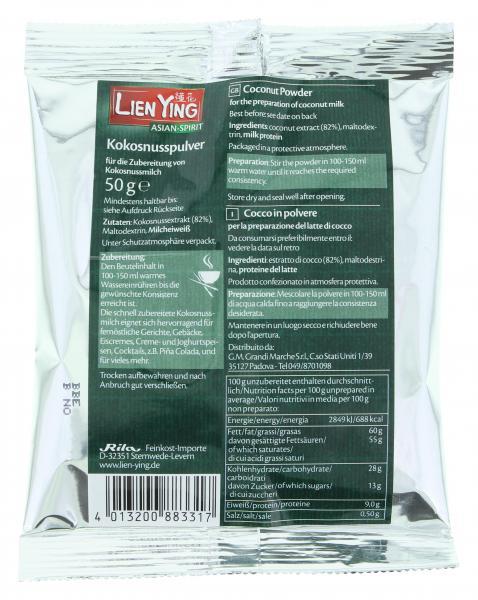 Lien Ying Asian-Spirit Kokosnusspulver