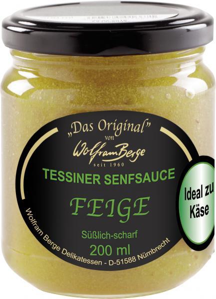 Wolfram Berge Original Tessiner Senfsauce Feige