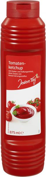 Jeden Tag Tomatenketchup
