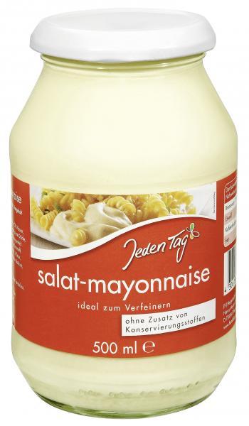 Jeden Tag Salat-Mayonnaise