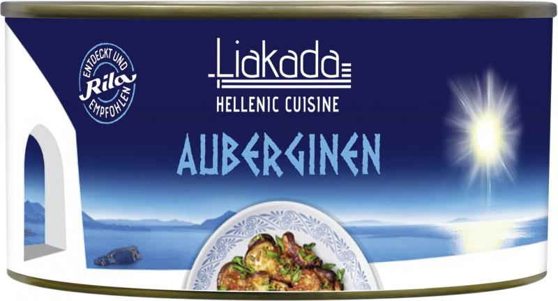 Liakada Auberginen mit Zwiebeln