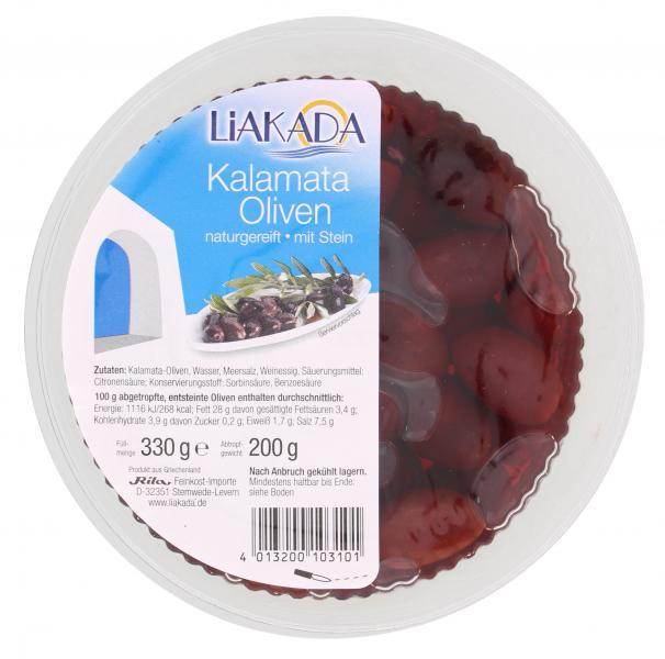 Liakada Kalamata-Oliven naturgereift