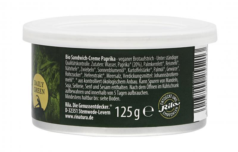 Rinatura Bio Daily Green Sandwich-Creme Paprika
