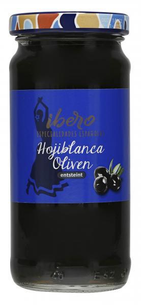 Ibero Spanische Oliven entsteint