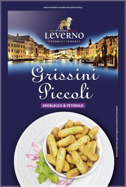 Leverno Grissini Piccoli Knoblauch & Petersilie