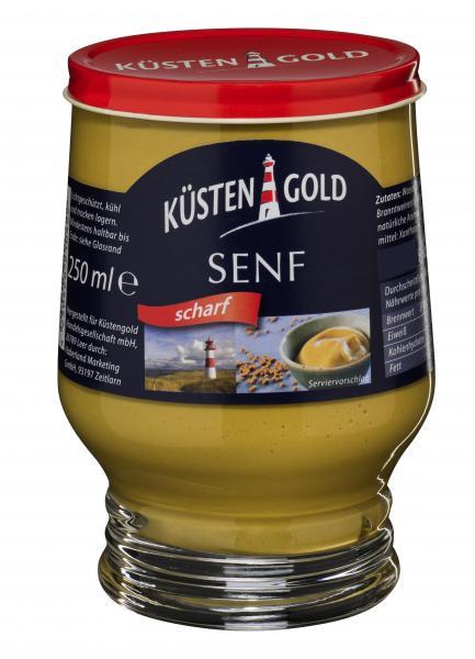 Küstengold Senf scharf