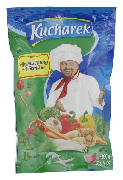 Kucharek Würzmischung mit Gemüse