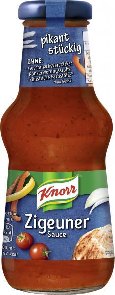 Knorr Zigeuner Sauce