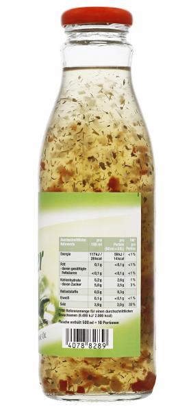 Tonoli Salat Dressing Kräuter ohne Öl