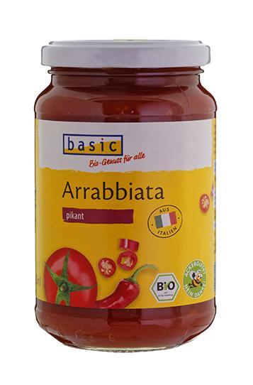 Basic Tomatensauce All'arrabbiata pikant