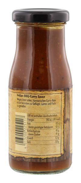 Nick Indian BBQ Curry Sauce