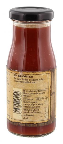 Nick BBQ Hot Chili Sauce
