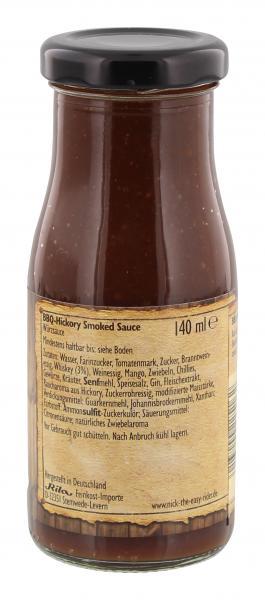 Nick BBQ Hickory Smoked Sauce