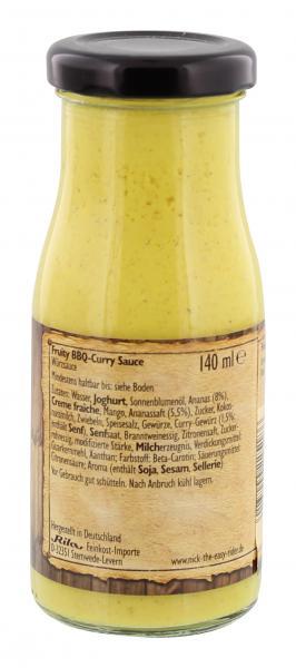 Nick BBQ Curry Sauce fruity