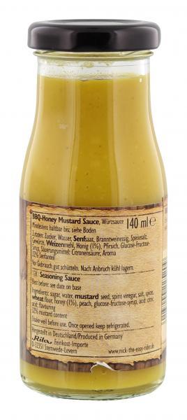 Nick BBQ Honey Mustard Sauce