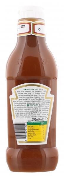 Heinz 100% Curry Gewürz Ketchup delicat