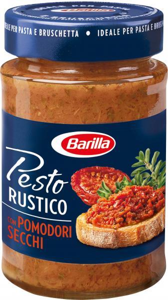 Barilla Pesto Rustico Pomodori Secchi