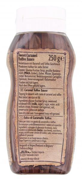 Nick Caramel Toffee Sauce