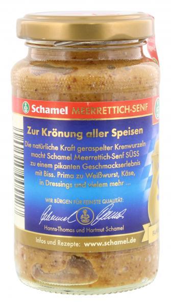 Schamel Meerrettich Senf Süss
