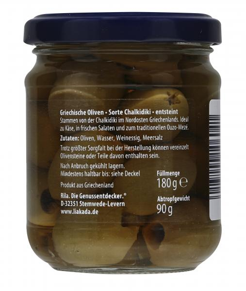 Liakada Oliven entsteint