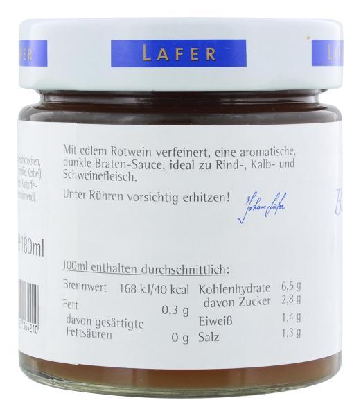 Johann Lafer Braten-Basissauce