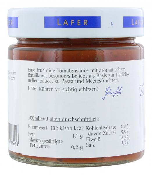 Johann Lafer Tomaten-Basilikum-Basissauce