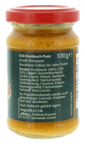 Lien Ying Asian-Spirit Chili-Knoblauch-Paste scharf