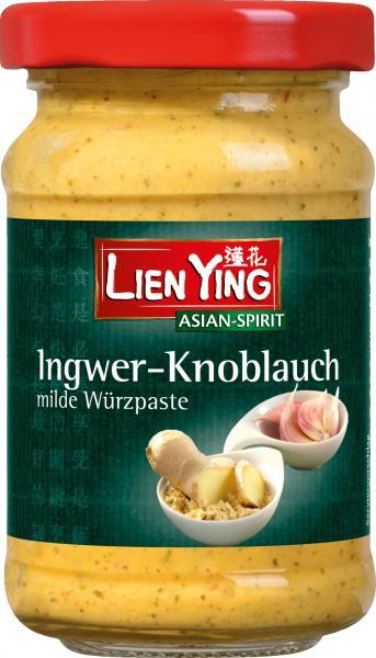 Lien Ying Asian-Spirit Knoblauch-Ingwer Paste mild