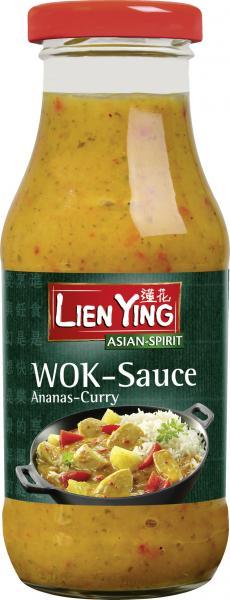 Lien Ying Asian-Spirit Wok-Sauce Ananas-Curry