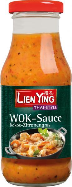 Lien Ying Thai-Style Wok-Sauce Kokos-Zitronengras