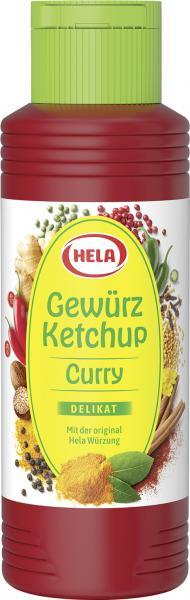 Hela Gewürz Ketchup Curry delikat
