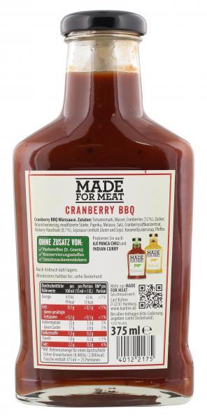 Kühne Made for meat Cranberry BBQ